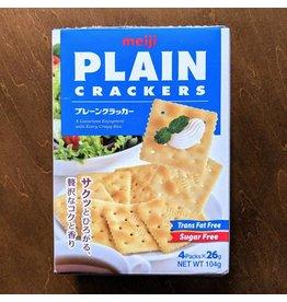 Meiji Plain cracker 104g
