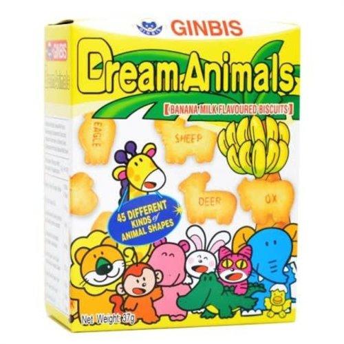 Ginbis Dream Animals-Banana 37g