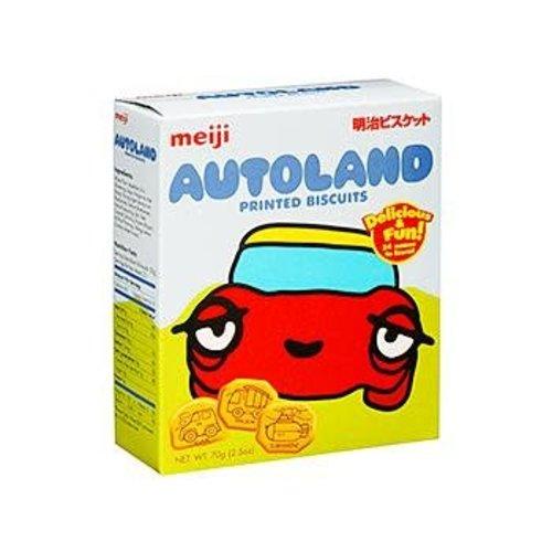 Meiji Printed Biscuits -Autoland 70g