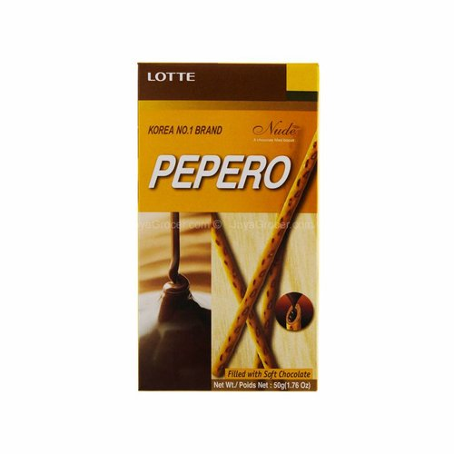 Lotte Pepero- Nude Choc Fillled   50g