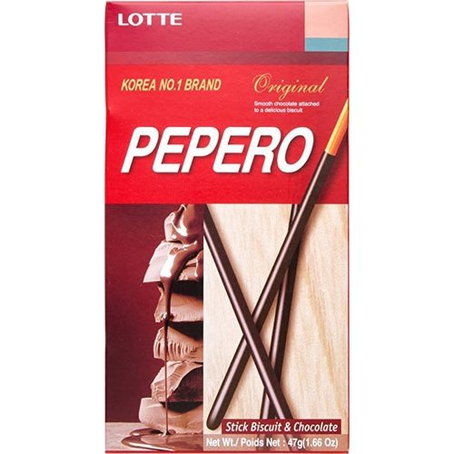 Lotte Pepero-original  Chocolate Coated biscuits 47g