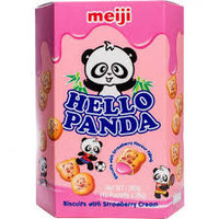 Meiji Hello Panda- Strawberry 260g