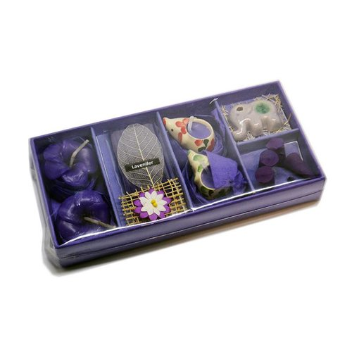 Elephant Incense Lavender Cone set