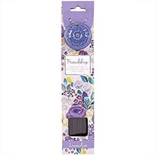 Incense Stick & Holder - Friendship (Lavender)