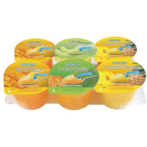 Cocon Nata & Fruit Dice Pudding Assorted 6 x 118g