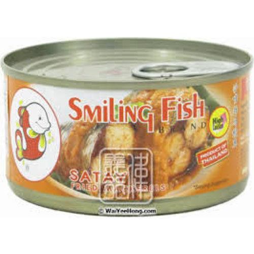 Smiling Fish Satay Fried Mackerel 185g