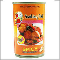 Smiling Fish Fried Mackerel Spicy 108g