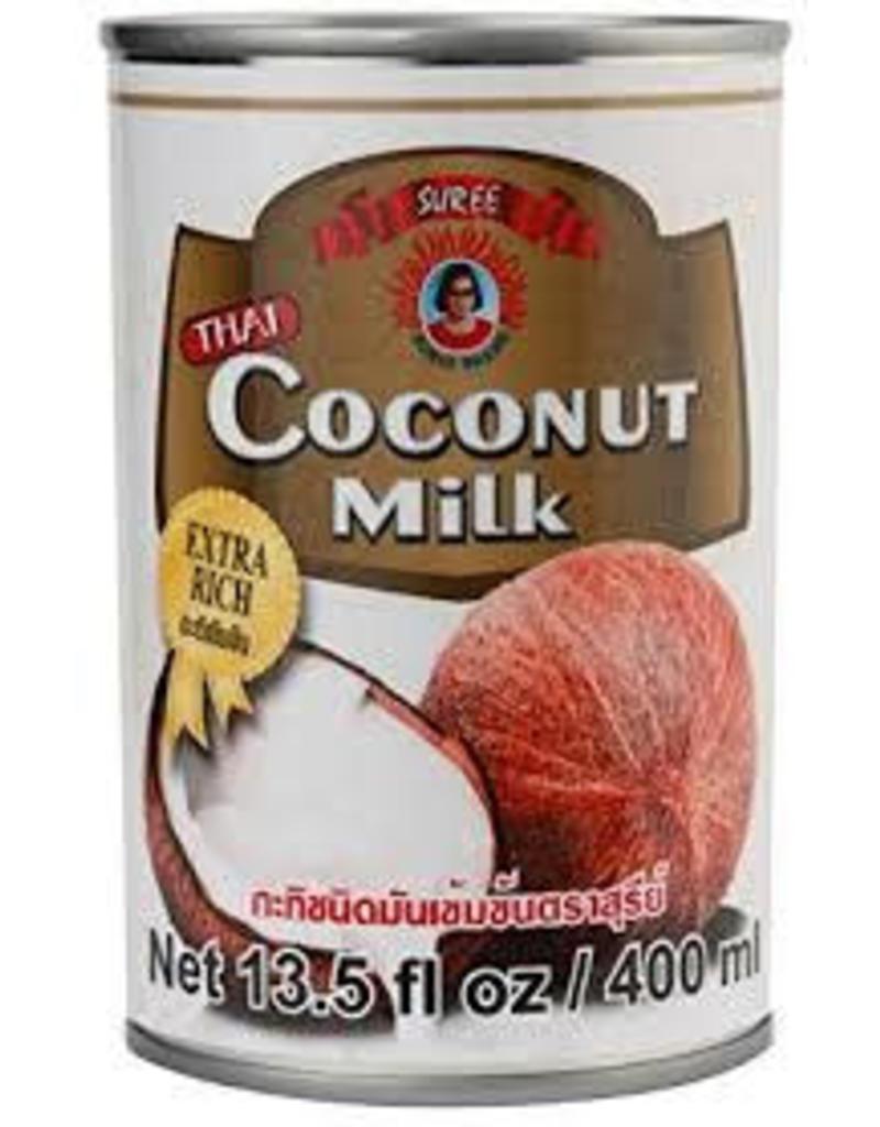 Suree Premium Coconut Milk (17-19%) 400ml