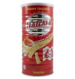 Hanami Prawn Crackers Original Tin 110g