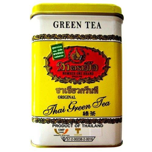 Hand Brand Thai Green Tea (50 Bags) square tub