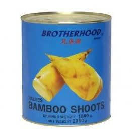 Brotherhood Bamboo Shoot Halves 2950g