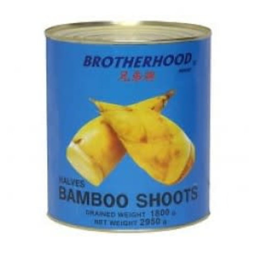 Brotherhood Bamboo Shoot- Halves 2.95kg