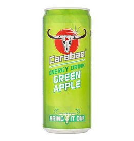 Carabao Energy Drink - Green Apple 330ml