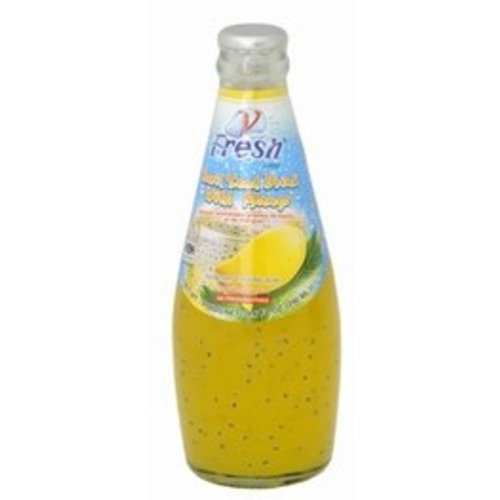 V Fresh Mango Drink with Basil Seed 290ml