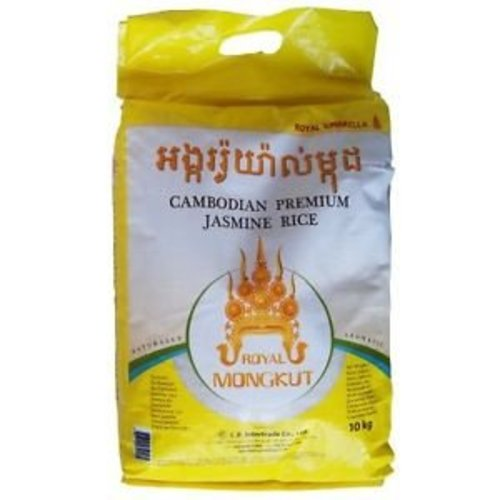Royal Mongkut Premium Cambodian Jasmine Rice - Whole 5kg