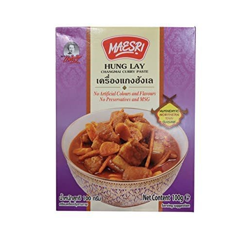 Maesri Curry Paste - Hung Lay Changmai Curry 100g