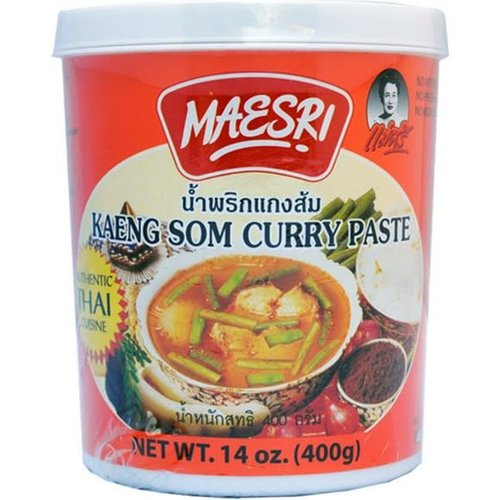 Maesri Curry Paste - Kaeng Som 400g