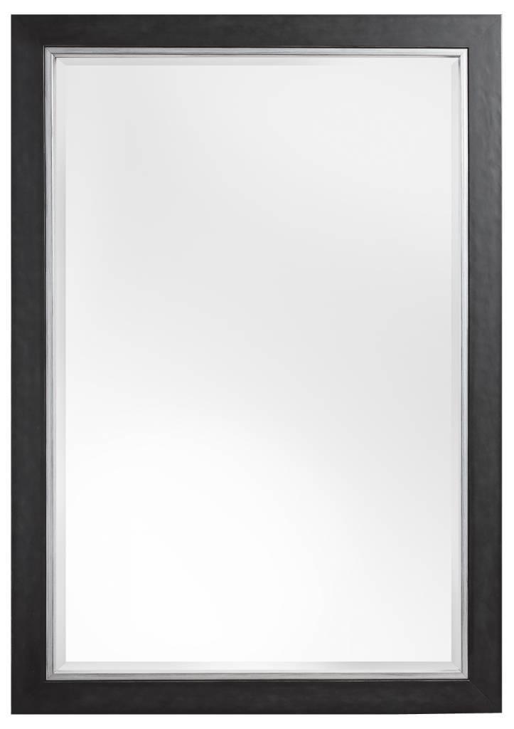 Modena luxuri ser moderner schwarzer spiegel mit - Schwarzer barock spiegel ...