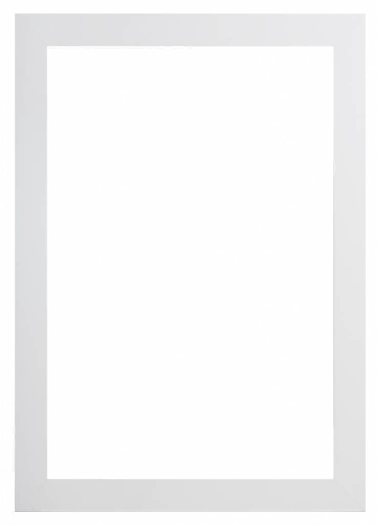 Milano - Luxuriöser moderner weißer Rahmen - | KunstSpiegel.at