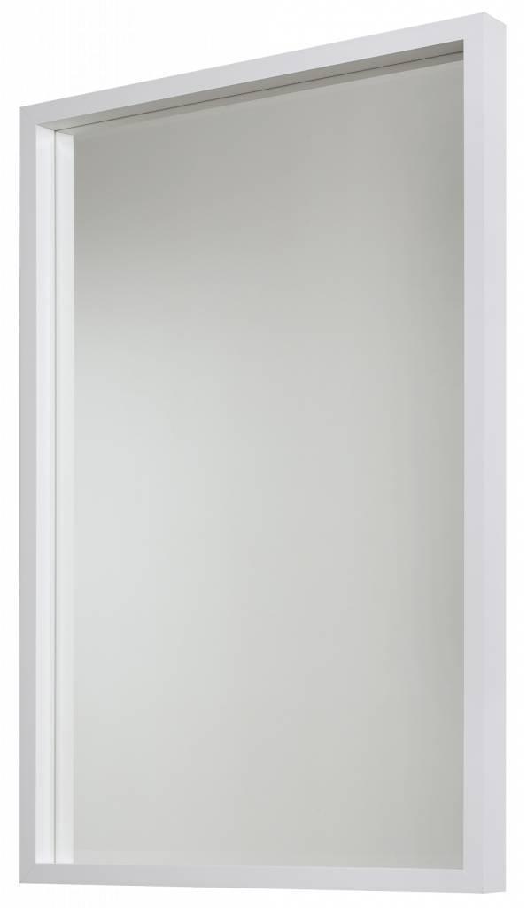 veneto designer spiegel mit wei er rahmen. Black Bedroom Furniture Sets. Home Design Ideas