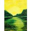 Ans Duin Yellow landscape (Hoge Veluwe)
