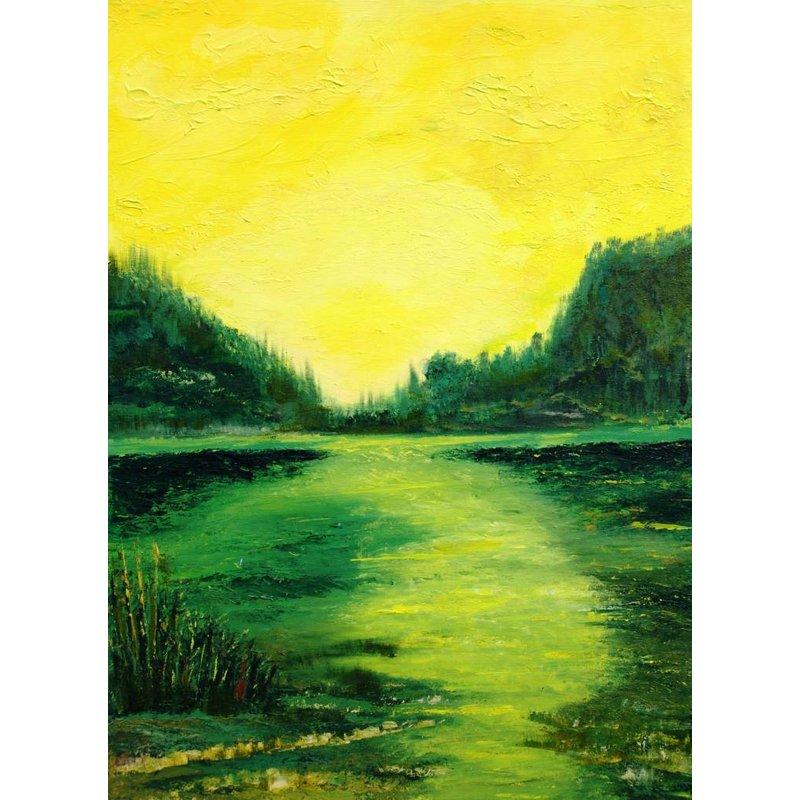 Yellow landscape (Hoge Veluwe)