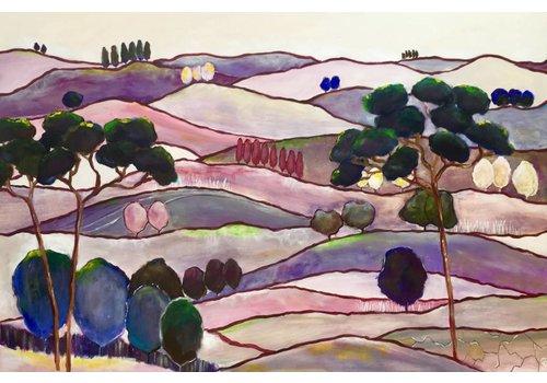 Claudia Schmit Schilderijen Purple Haze