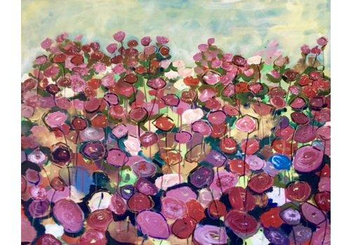 Claudia Schmit Schilderijen La vie en rose