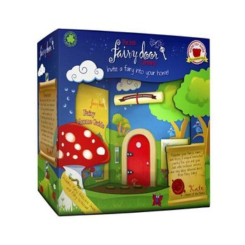 The Irish Fairy Door Company Rood rond feeëndeurtje