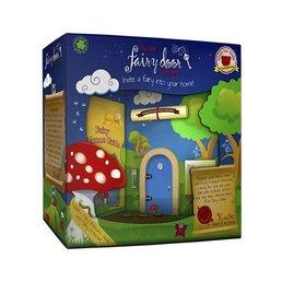 The Irish Fairy Door Company Blauw rond feeëndeurtje