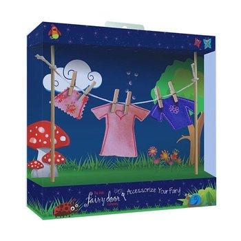 The Irish Fairy Door Company Waslijn met feeën meisjeskleren