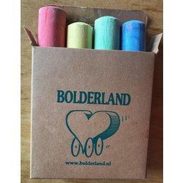 Bolderland (stoep)Krijt