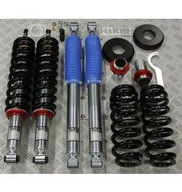 VW T3 Syncro kit fileté (amortisseurs/ressorts). Réglable en hauteur. Essieu avant