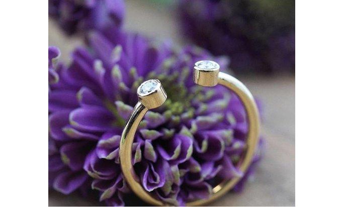 De B-Day Diamond© ring