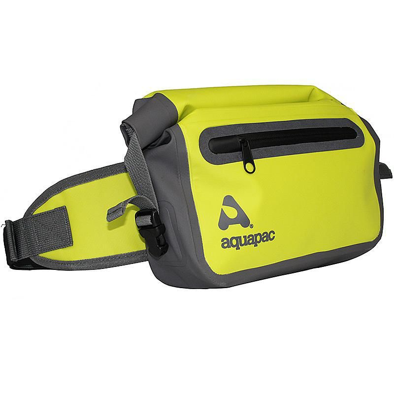 Aquapac Aquapac Trailproof Waist Pack a rugged waterproof belt pack to protect your essentials whether you're out on the water or trekking the hills. Tough and practical, there's 3 litres of capacity, and a quick-access pocket, padded and adjustable waist belt. T