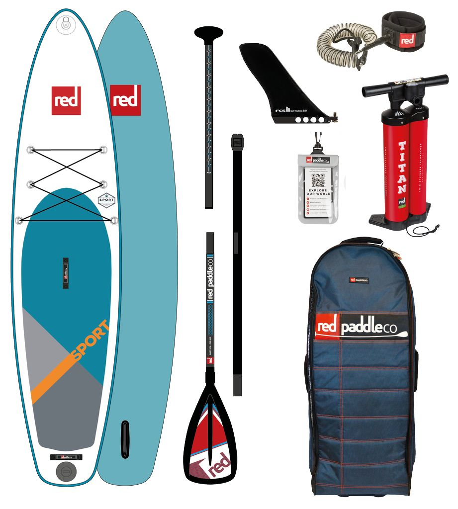 """Red Paddle Co Red Paddle Co.12'6"""" SPORT PACKAGE Alloy 3pc"""