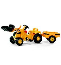 Rolly Toys Rolly Toys 023288 - RollyKid CAT met aanhanger en frontlader