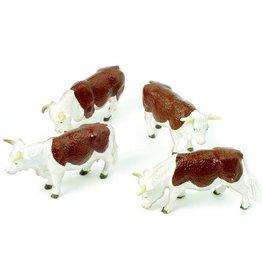 Britains Britains 40964 - Hereford koeien rood/wit 1:32