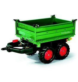 Rolly Toys Rolly Toys 122202 - Mega Trailer Fendt groen