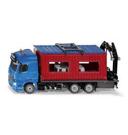 Siku Siku 3556 - Mercedes met bouwcontainer 1:50