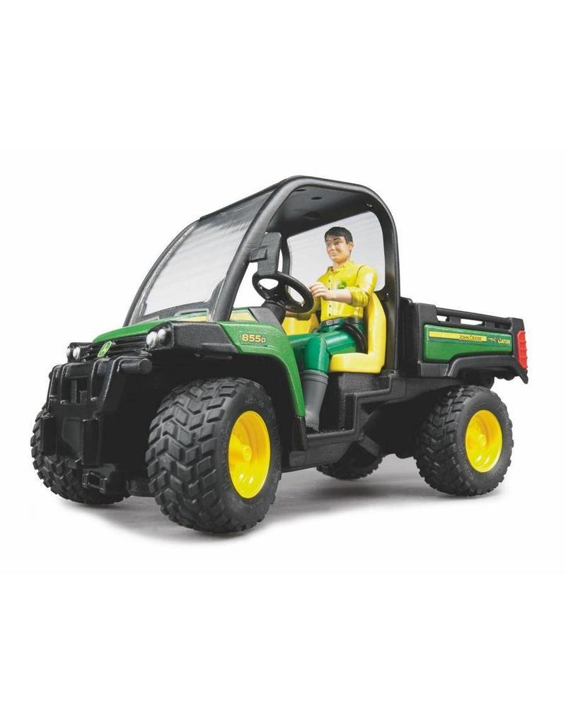 Bruder Bruder 2490 - John Deere Gator XUV 855D met chauffeur