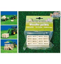 Kids Globe Kids Globe 610761 - Houten pallets (8 stuks) 1:32