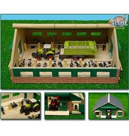 Kids Globe Kids Globe 610492 - Ligboxenstal (1:87 / Siku)