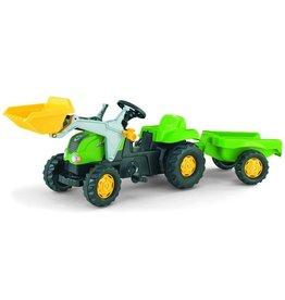 Rolly Toys Rolly Toys 023134 - RollyKid X  met frontlader en aanhanger groen