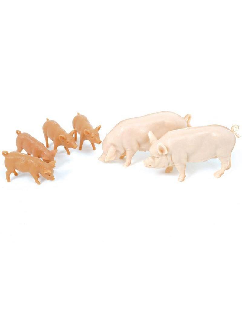 Britains Britains 40966 - Grote witte varkens met biggetjes 1:32