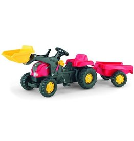 Rolly Toys Rolly Toys 023127 - RollyKid X  met frontlader en aanhanger rood