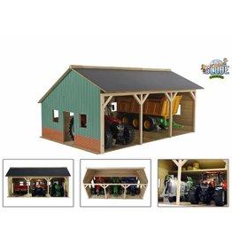 Kids Globe Kids Globe 610340 - Tractorloods voor 3 tractoren (1:16 / Bruder)