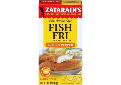 Zatarain's Fish Fri Lemon Pepper, 340g