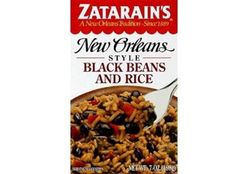 Zatarain's Black Beans And Rice, 198g