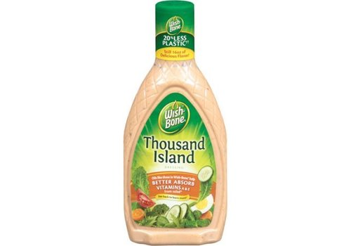 Wish-Bone Thousand Island Dressing, 473ml